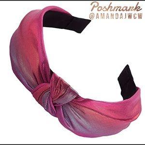 Metallic Rainbow Headband - Color Option 4